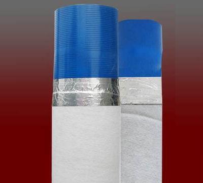 filtro microfessurato ricoperto con calza geotessile TNT